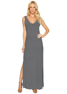 Three Dots V Front V-Back Maxi