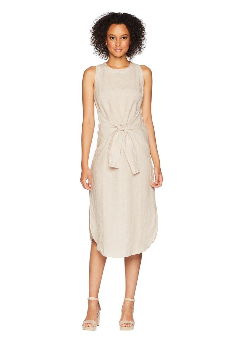 Three Dots Woven Linen Dress