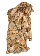 Thurley Chateau Ruffled Floral Dress