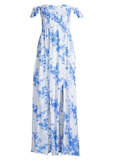 Tiare Hawaii Hollie Floral Empire Waist Maxi Dress