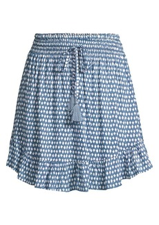 Tiare Hawaii Lily Rose Pleated Ruffled Skirt