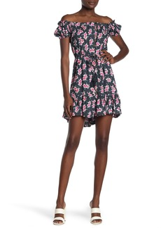Tiare Hawaii Off-the-Shoulder Floral Print Dress