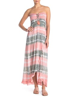 Tiare Hawaii Strapless Maxi Dress