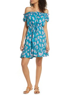Tiare Hawaii Off the Shoulder Cover-Up Dress
