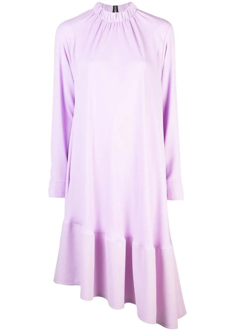 Tibi modern drape midi dress