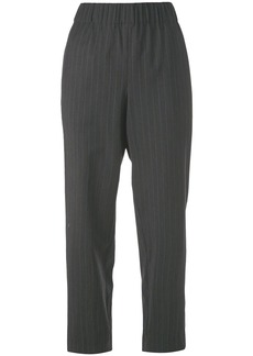 Tibi cropped pinstripe trousers