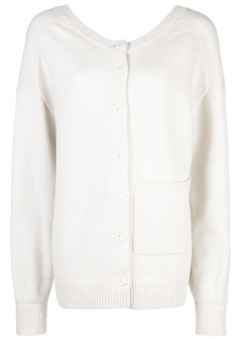 Tibi two-way cardigan pullover
