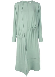 Tibi modern asymmetric drape dress