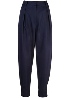 Tibi Techy Twill pleated trousers