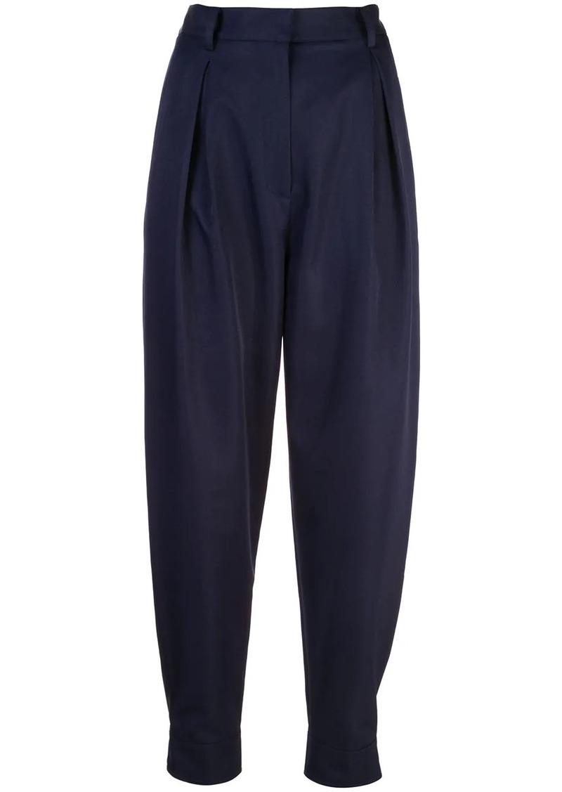 Tibi Techy Twill pleated trousers