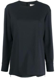 Tibi round neck blouse