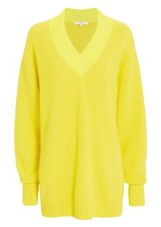 Tibi Airy V-Neck Sweater