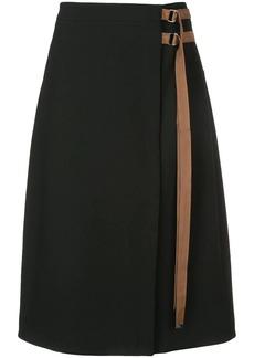 Tibi Anson belted skirt