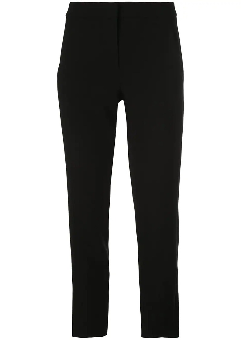 Tibi Anson cropped tapered trousers