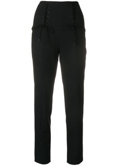 Tibi Anson high waisted trousers