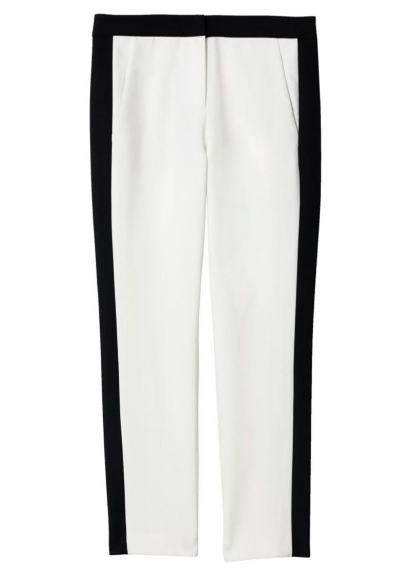 Tibi Anson Stretch Colorblock Pants