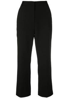 Tibi Anson Stretch Cropped Bootcut Pant