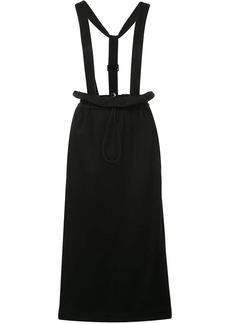 Tibi Astor detachable straps skirt