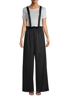 Tibi Astor Suspender Pants