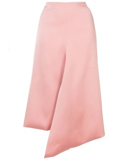 Tibi asymmetric draped skirt