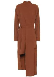 Tibi Asymmetric midi dress