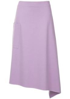 Tibi asymmetric wrap skirt