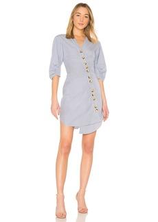 Tibi Asymmetrical Shirt Dress