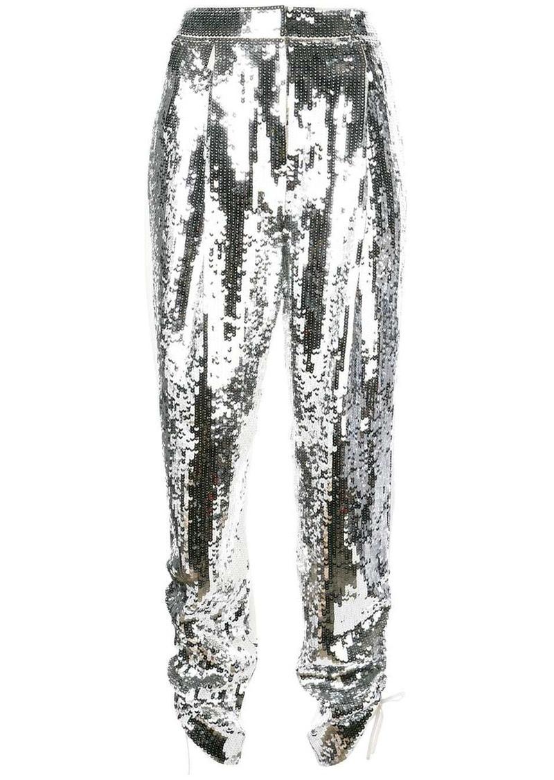 Tibi Avril sequinned trousers