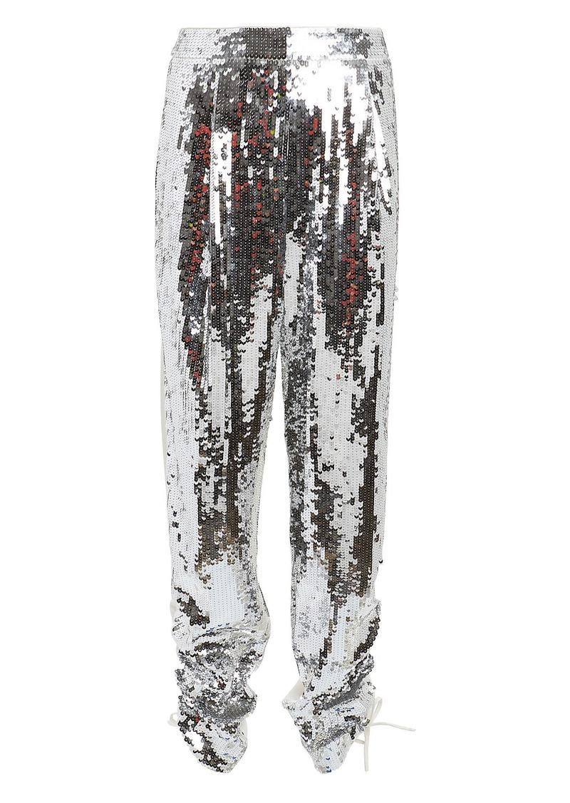 Tibi Avril Sequin-Embellished Pants