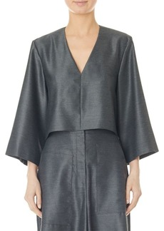 Tibi Bell Sleeve Top