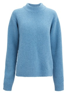 Tibi Mock Neck Sweater