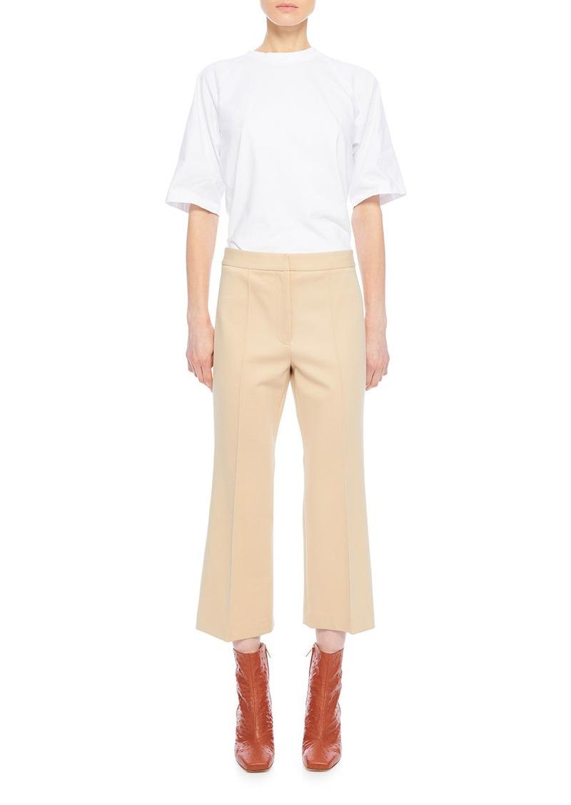 Tibi Bond Stretch Knit Jane Cropped Pants