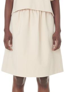 Tibi Bond Stretch Knit Skirt