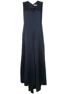 Tibi asymmetric V-neck dress