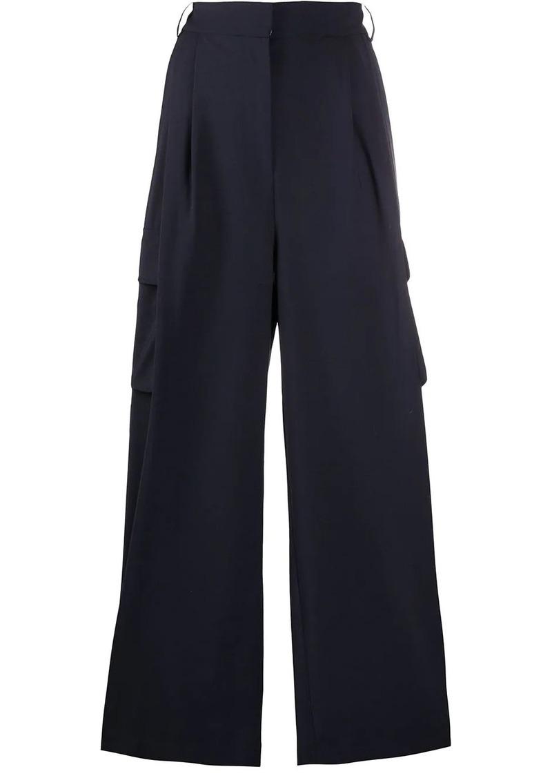 Tibi cargo palazzo trousers