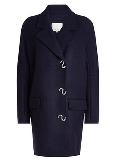 Tibi Coat with Virgin Wool
