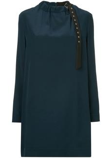 Tibi colour block shift dress