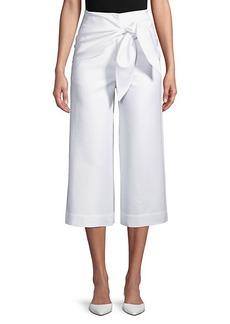 Tibi Compact Cotton Suiting Pants