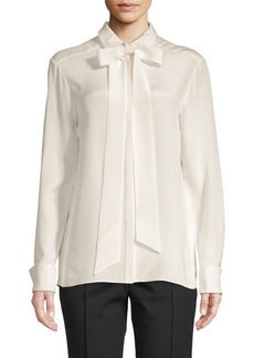 Tibi Cotton Button-Down Shirt