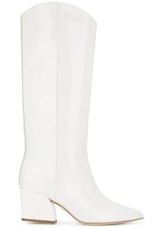 Tibi cowboy-style boots