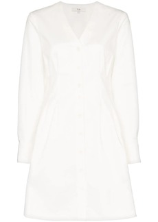 Tibi Dominic twill shirt-dress