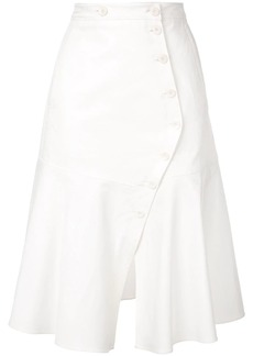 Tibi Dominic Twill skirt