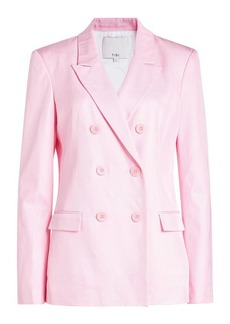 Tibi Double Breasted Blazer