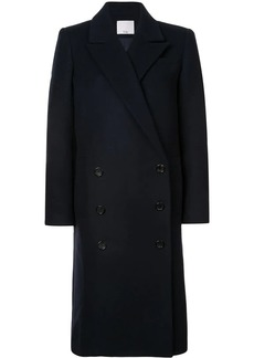 Tibi double breasted midi coat