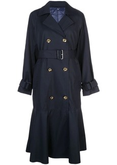 Tibi double breasted trench coat