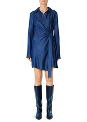 Tibi Drape Tunic Dress