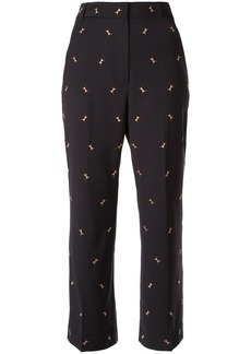 Tibi embroidered ant trousers