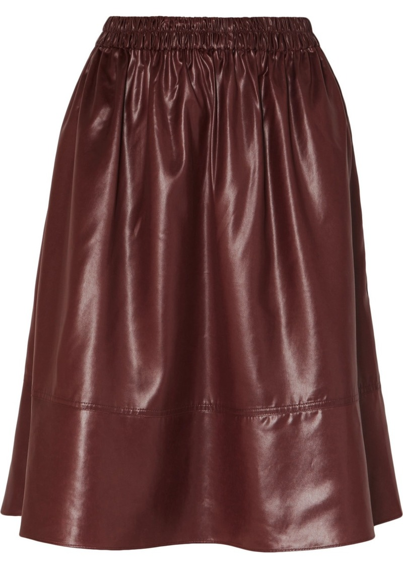 Tibi Shell Skirt