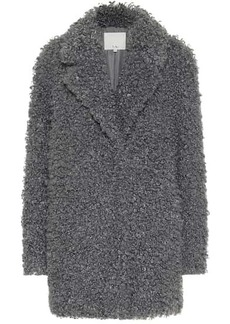 Tibi Faux shearling coat