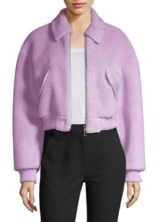 Tibi Faux Shearling Jacket